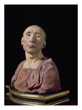 Portrait Bust of the Condottiere Niccolo Da Uzzano (1359-1431) Giclee Print by  Donatello
