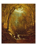 Kaaterskill Falls, 1871 Giclee Print by Sanford Robinson Gifford
