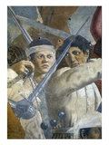 The Legend of the True Cross, the Victory of Heraclius and Execution of Chosroes Giclee Print by  Francesca