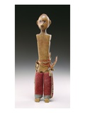 Male Figure (Love Doll) Potawatomi, 1800-60 (Wood and Wool Fabric) Giclee Print by  American