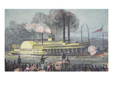 The 'Robert E. Lee', C.1870 (Coloured Engraving) Giclee Print by  American