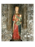 Virgin and Child Holding Grapes, Early 15th Century (Wood) Giclee Print by  French