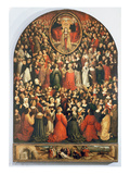 Coronation of the Virgin, 1513 (Oil on Panel) Giclee Print by Ludovico Brea