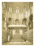 Tomb of Sultan Qalaoun in Cairo (Litho) Giclee Print by  French