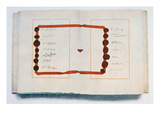 Page of the Treaty of Versailles with Signatories, 28th June 1919 (Ink on Paper) Giclee Print