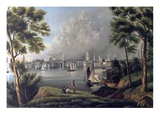 The Silver City, 1842 Giclee Print by Henrietta McKenney