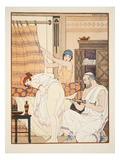 An Enema, Illustration from 'The Works of Hippocrates', 1934 (Colour Litho) Giclee Print by Joseph Kuhn-Regnier