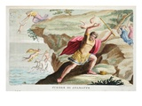 Athamas Insane, Book IV, Illustration from Ovid's Metamorphoses, Florence, 1832 Giclee Print by Luigi Ademollo