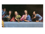 The Last Supper, Called 'The Little Last Supper' (Detail) Giclee Print by Philippe De Champaigne