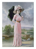 Fashionable Beach Wear by Rivain and Cie, 1910 (Colour Litho) Giclee Print by  Felix Studio