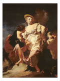 The Fortune-Teller (L'Indivona), 1740 Giclee Print by Giambattista Piazzetta or Piazetta