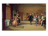 131-0635473 the Presentation of Don John of Austria to Charles V in C.1558, 1869 Giclee Print by Eduardo Rosales