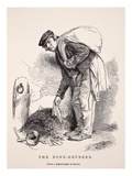 The Bone-Grubber, after a Daguerreotype by Richard Beard Giclee Print by  English