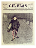 The Little Boy, from 'Gil Blas', 1897 (Colour Litho) Giclee Print by Theophile Alexandre Steinlen
