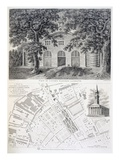 Cuper's Gardens, Lambeth, Engraved by Bartholemew Howlett, 1746 (Engraving) Giclee Print by  English