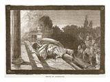 Death of Alcibiades (Litho) Giclee Print by  English