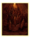 The Angels in the Planet Mercury, Illustration from 'The Dore Gallery', Published C.1890 Giclee Print by Gustave Doré