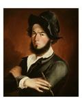 Self Portrait, 1845 Giclee Print by Frederick E. Cohen