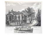South West View of Sadler's Wells and View of the Theatre in its Former State Giclee Print by R.C. Andrews