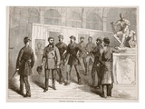 Paschal Grousset in Custody Giclee Print by  French