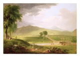 View of Rutland, Vermont, 1840 Giclee Print by Asher Brown Durand