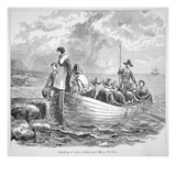 The Plymouth Colony in America in 1620 (Litho) Giclee Print by  American