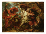 King Lear, C.1788 (Oil on Canvas) Giclee Print by Benjamin West
