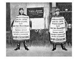 Anti-Jewish Campaign, 1933 (B/W Photo) Giclee Print by  German photographer