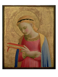 Virgin Annunciate, 1450-55 (Gold Leaf and Tempera on Wood Panel) (See also 139311) Giclee Print by  Fra Angelico