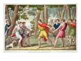 Meleager and Atalanta, Book VIII, Illustration from Ovid's Metamorphoses, Florence, 1832 Giclee Print by Luigi Ademollo