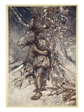 I Will Sing, That They Shall Hear I Am Not Afraid Giclee Print by Arthur Rackham