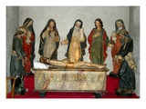 17th Century Group with Christ Lying Dead (Photo) Giclee Print