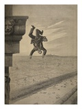 Suicide at the Arc De Troimphe, Illustration from 'Le Petit Journal: Supplement Illustre', 1898 Giclee Print by Henri Meyer