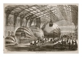 Balloon Manufactory Giclee Print by  French
