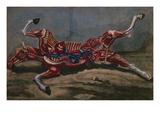 Anatomy of a Horse, from 'Cours D'Hippiatrique Ou Traite Complet De La Medecine Des Chevaux' Giclee Print by  Harguinier