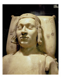 Charles V the 'Wise' (1338-80) Tomb Effigy, C.1364 (Marble) (See also 95784) Giclee Print by Andre Beauneveu