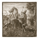 Death of Crassus (Litho) Giclee Print by  English