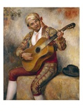 The Spanish Guitarist, 1894 Giclee Print by Pierre-Auguste Renoir