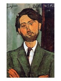 Leopold Zborowski, 1916 (Oil on Canvas) Giclee Print by Amedeo Modigliani