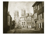 West Front, York Minster, from Lendall Street, 1845 (B/W Photo) Giclee Print by William Henry Fox Talbot