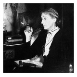 Virginia Woolf (B/W Photo) Giclee Print