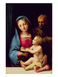 Holy Family Giclee Print by Giulio Romano