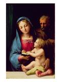 Holy Family Premium Giclee Print by Giulio Romano