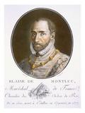 Blaise De Montluc Giclee Print by Antoine Louis Francois Sergent-marceau