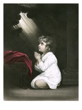Samuel as a Boy Giclee Print by Sir Joshua Reynolds