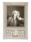 Portrait of Alexander Pope Giclee Print by  English