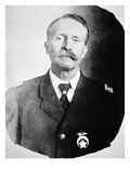 William 'Bill' Tilghman (1854-1924) (B/W Photo) Giclee Print by  American Photographer