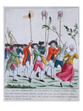 Heads of Two of the King's Guards Killed on 5 October 1789 at Versailles Giclee Print by  French