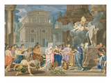 Sacrifice of Apollo, 1702 (Oil on Canvas) Giclee Print by Richard van Orley