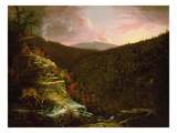 From the Top of Kaaterskill Falls, 1826 (Oil on Canvas) Giclee Print by Thomas Cole